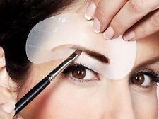 8 Pcs Augenbrauen Schablonen Augenbrauen Pflege Stencil Kit