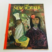 The New Yorker: August 25 1962 Full Magazine/Theme Cover Ludwig Bemelmans