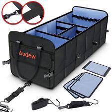 Collapsible Car SUV Organizer Trunk 1680D Storage Bag Folding Non-Slip Bag US