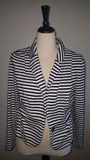 ELLE black & white stripes blazer Size L
