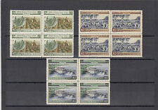 RUSSIA 1954,AGRICULTURE set in FOURBLOCKS,mint
