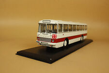 1/43 Soviet Union Russian Ikarus-556 2708# (White/Red) + gift