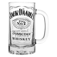 NEW 2018 Jack Daniels Whiskey old No.7 Glass Stein Man Cave Bar Fathers Day Gift