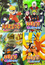Naruto (Episodes 1 - 620 + Obito Movie ) ~ 31-DVD SET ~ English Dubbed Version ~