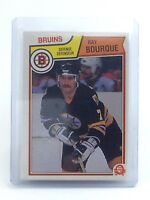 1983-1984 Ray Bourque #45 Boston Bruins OPC O-Pee-Chee Ice Hockey Card H684