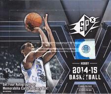 Upper Deck 2014-15 Season Basketball Trading Cards