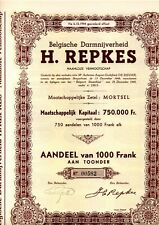 H.REPKES BELGISCHE DARMNIJVERHEID MORTSEL