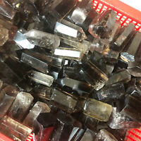 2.2LB  Natural smokey quartz obelisk crystal wand point healing randomly