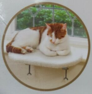 Cat Windowsill Bed for Cosy Cats 40x29x2cm NEW
