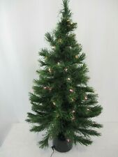 """32"""" Fiber Optic Color Changing Christmas Tree New In Box"""