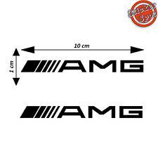 Kit 2 Adesivi AMG Mercedes Classe A C Cla GT Auto Logo Vinile Decalco Stickers