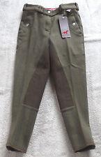Red Horse/ Horka  Kinderreithose, Vollbesatz, grün gestreift  Gr.140,  (5106)