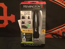 New Remington Lithium All-in-1 Mens Grooming Kit 8 pc $$