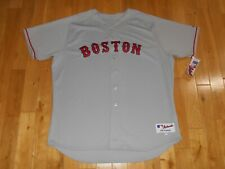 New Majestic Gray Road BOSTON RED SOX Authentic Collection MLB Team Jersey Sz 56