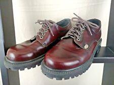 Windsor Smith Cherry Leather Ankle Chunky Boots Vagabond Goth Women Sz41EU  9/10