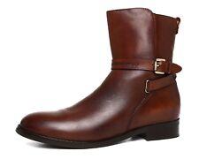 Blondo Zena Waterproof Leather Boot Brown Women Sz 8 M 5826 *