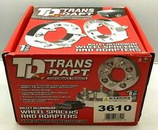 Trans-Dapt 3610 Billet Wheel Adapters 5 on 4-3/4 to 5 on 4-1/2 Pair Save $$$