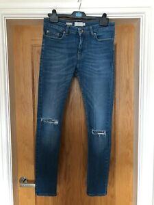 Top Man Spray on Skinny Jeans W30 Leg Regular