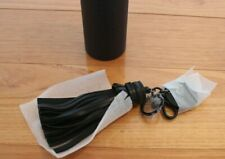 Mimco Black Tassel Keyring New