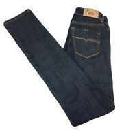 Diesel Womens Hi-Vy Super Slim Skinny Blue Denim Jeans Size W26 L34