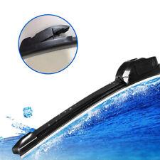 1x Frameless 22 inch Rubber Black Car Windshield Wiper Blade For U-Type Hook
