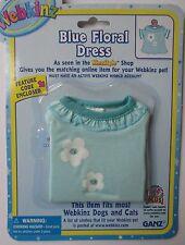 x Blue Floral Dress fits most WEBKINZ cat dog pet CLOTHING new code