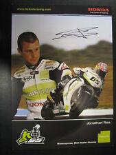 Hannspree Ten Kate Honda CBR1000RR WSB 2010 #65 Jonathan Rea (GB) gesigneerd