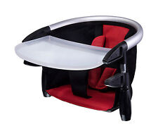 Phil & Teds Lobster Clip-On Portable High Chair In Red Brand w/Carry Bag New