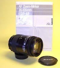 Nikon AF NIKKOR 35-135mm MINT condition w/Instructions