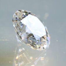 12x2.6 MM 0.84TCW Round Brilliant Ideal Russian Cut Diamond D Color VVS1 Clarity