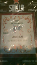 STELLA MADE IN HOLLAND CROSS STITCH KIT BIRTH BABY BIRTHDAY #1144