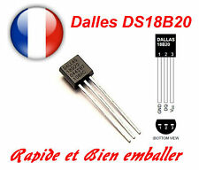 DS18B20 Digitales Thermometer +/- 0,5 °C TO92 1-wire