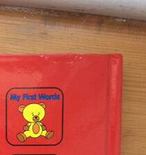 my first words, Peter Haddock Publishing 2008; boardbook