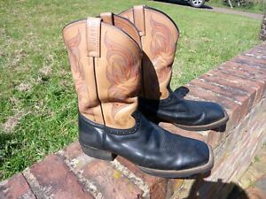 Mens Justin western boots UK size 10