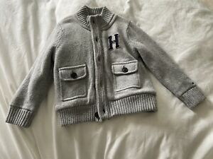 Tommy Hilfiger Zip Up Knitted Cardigan