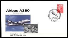 Erstflug  Airbus A380: Paris-New York-Paris, 20.11.2009. SoSt. Frankreich 2009