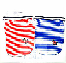Navy Striped Vest Summer Dress Jumper For Small Medium Dogs And Puppies