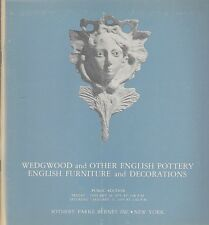 Sotheby - Wedgewood English Pottery-Furniture-Decorations