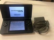 Nintendo DS Lite Onyx EUC with Power Cord & Stylus