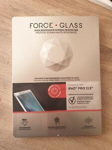 Force Glass Verre trempé IPAD PRO 12.9 Haute resistance Screen protector Neuf
