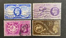 GB KING GEORGE VI KGVI 1949 Universal Postal Union Set Of 4