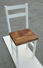 Industrial Chair Modern Farmhouse Chair Seat Home Furniture Dining Room Solid Me