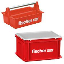 Fischer Werkzeug Werkzeugkiste Werzeugkasten Tragebox Tragekasten Kunststoff