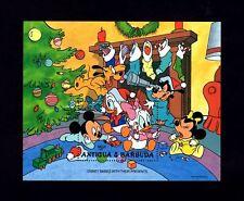 ANTIGUA - 1986 - DISNEY - CHRISTMAS - BABIES - PRESENTS - STOCKINGS - MINT S/S!