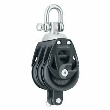 Harken 60mm Triple Aluminum Element Block w/Swivel & Becket 6273