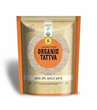Organic Tattva (Urad Dal) Whole White Lentils 500g (USDA Certified)