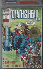 Old Vintage Limited Edition Boxed Factory Set 4 Deaths Head Comic Books Unopened