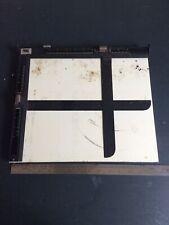 Vintage Darkroom Enlarger Print Easel Masking Frame For Prints Up 10 X 12