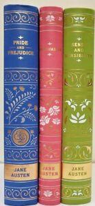 PRIDE AND PREJUDICE, PERSUASION, SENSE AND SENSIBILITY ~Jane Austen 3 Flexibound