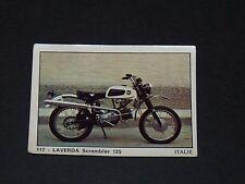 #117 LAVERDA SCRAMBLER 125 ITALIA MOTO 2000 PANINI EDITIONS DE LA TOUR 1973